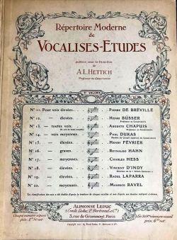 Vocalises-Etudes Vol. 2
