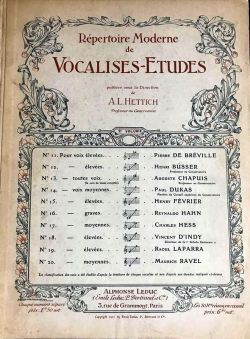 Vocalises-Etudes Vol. 2