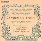 Vocalises Harry White Edward Rushton BIS Florent Schmitt
