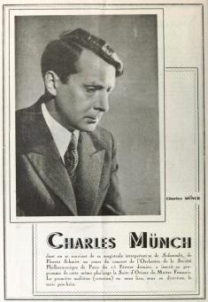 Charles Munch Florent Schmitt Oriane et le Prince d'Amour 1937