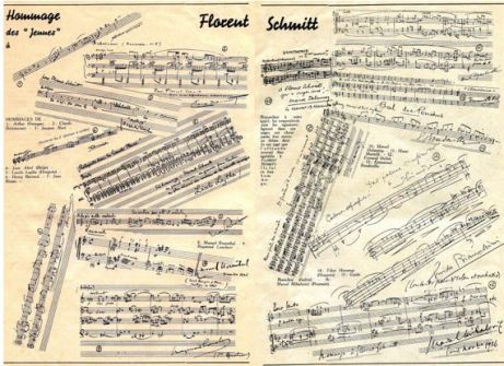 Florent Schmitt music tributes 1937 L'Art Musical