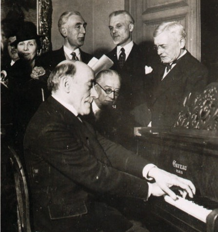 Ricardo Vines, Edouard Ravel, Florent Schmitt 1938 Tribute to Maurice Ravel