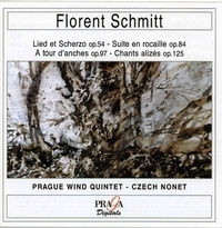 Florent Schmitt Prague Wind Quintet 1980 Praga