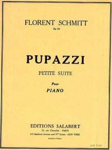 Florent Schmitt Pupazzi piano score