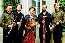 Members of the Prague Wind Quintet 2000