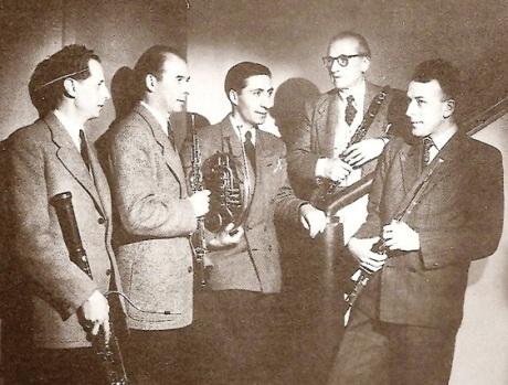 Quintette a Vent de l'Orchestre National 1952 photo