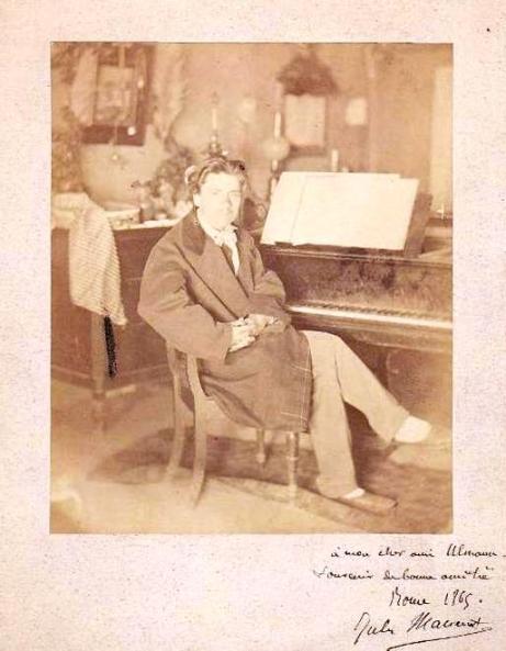 Jules Massenet Villa Medici 1865