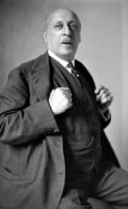 Gabriel Astruc in later life.
