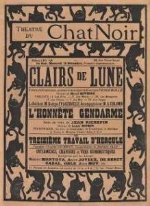 Le Chat noir poster artwork