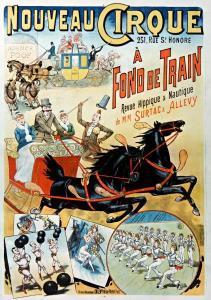 Nouveau-Cirque poster