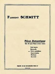 Florent Schmitt Pieces romantiques score