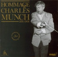 Hommage a Charles Munch Euromuses Debussy Roussel Schmitt