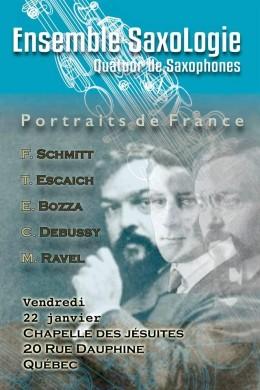 Ensemble SaxoLogie Louis-Philippe Bonin Florent Schmitt