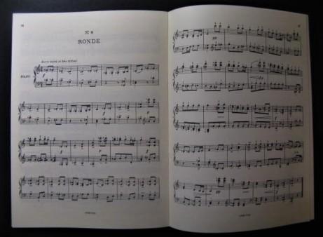 Florent Schmitt Petites musiques score pages