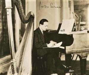 Carlos Salzedo French harpist 1928