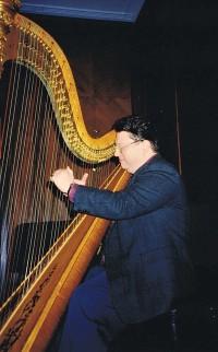 Saul David Zlatkovski American harpist