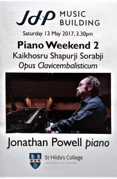 Sorabji Jonathan Powell Opus Clavicembalisticum 2017