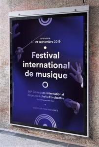 Bensancon Music Festival Poster 2019