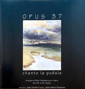 Chant la poesie Opus 37 JEan Vonnet Florent Schmitt